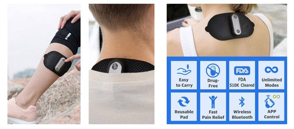 TENS unit with app by 1byOne
