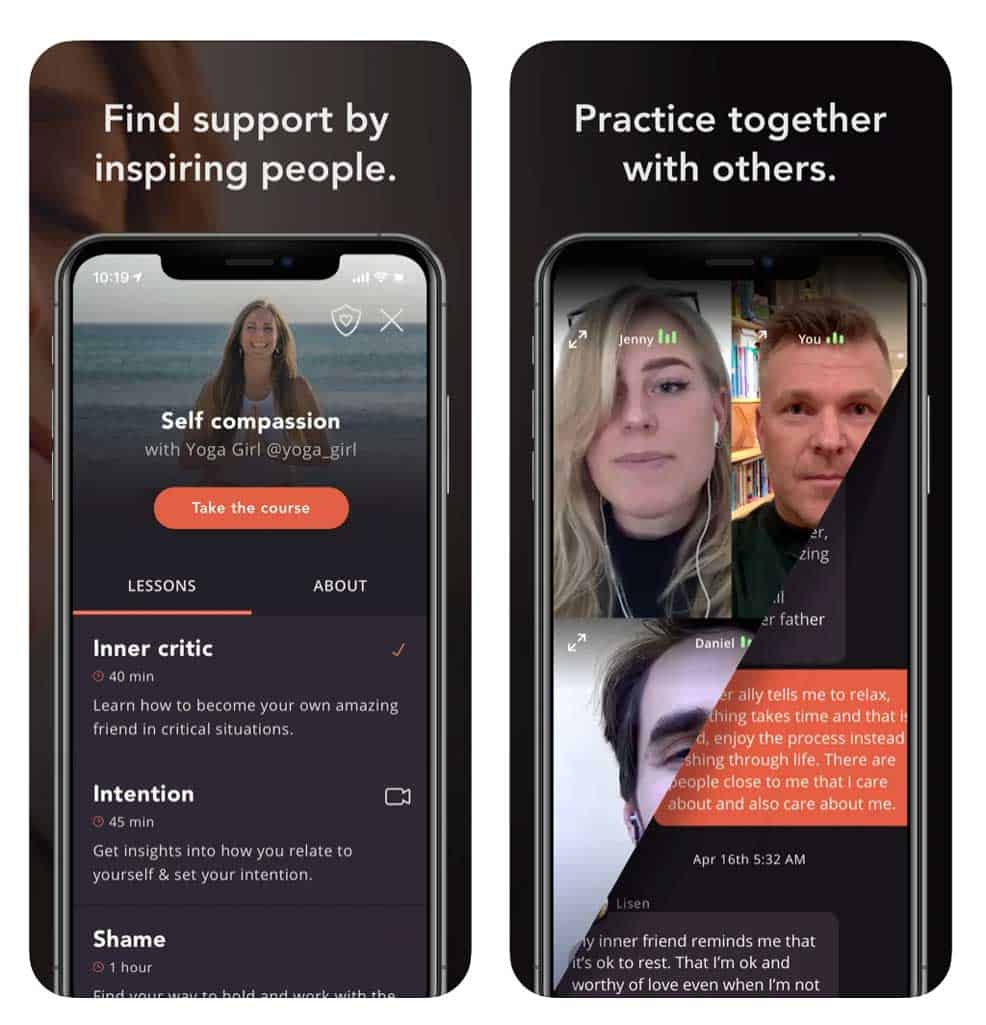 share your feelings and listen to others with the 29k app