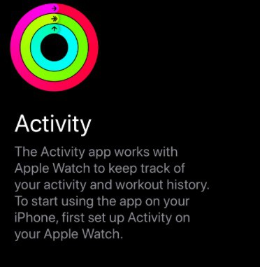 Activity App not opening on iPhone, fix