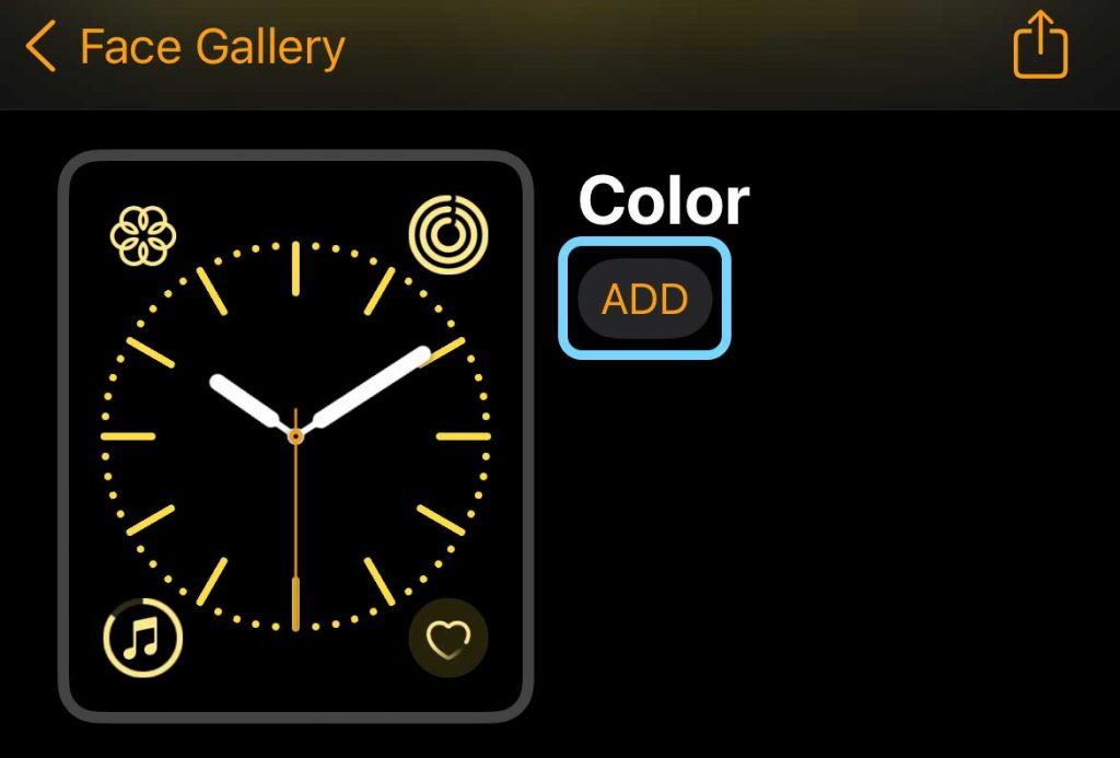 add new watch face and complications to your Apple Watch using the Watch app