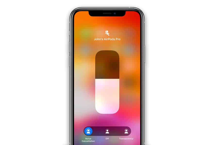 AirPods Pro ANC noise cancellation feature