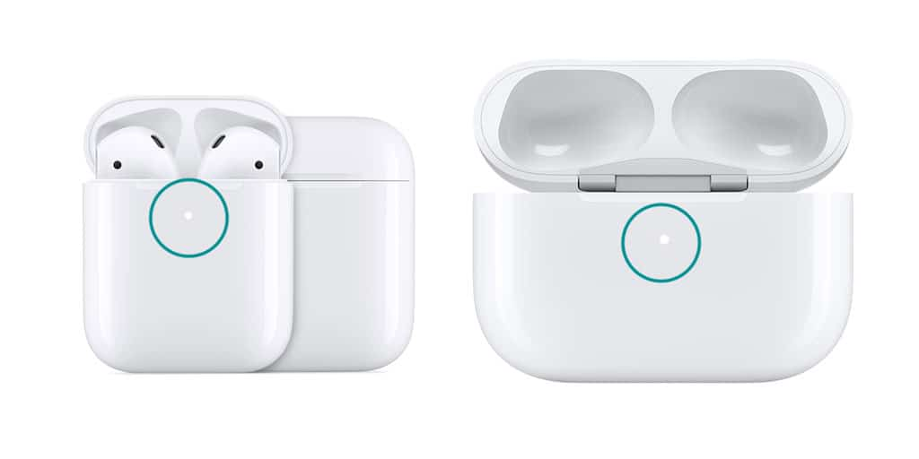 status light on AirPods and AirPods Pro