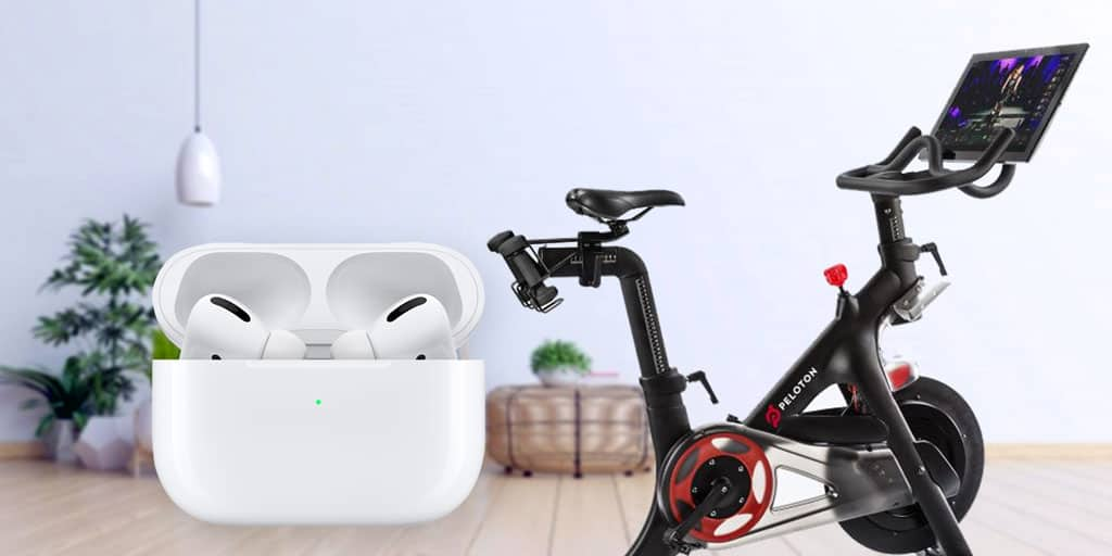 Peloton and AirPods--a good match