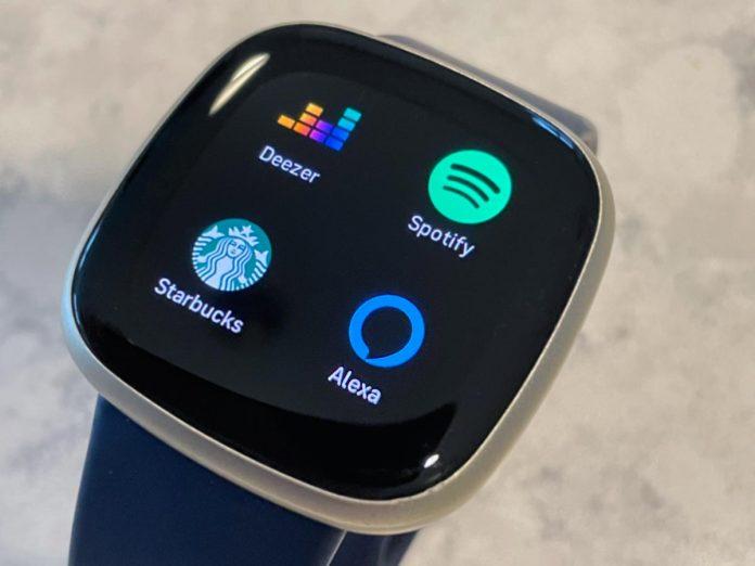 Fitbit Alexa app on Versa 3