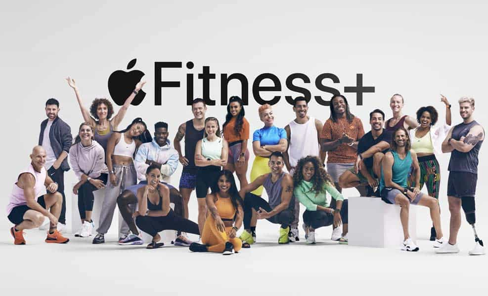 Apple Fitness+ trainers in group for launch