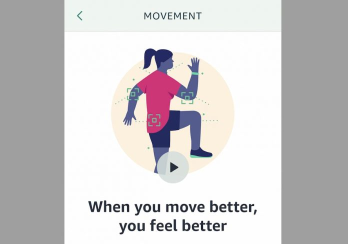 How to use Amazon Halo Movement Health feature