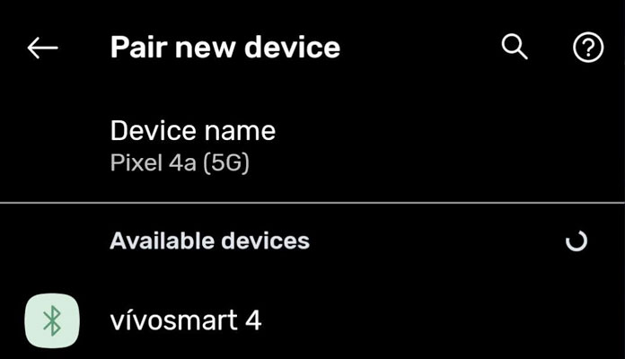 Android Bluetooth pair a new device from available devices