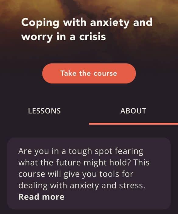 course description in 29k app