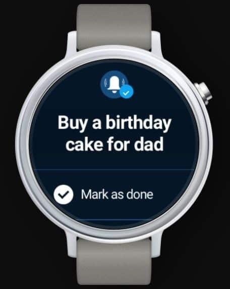 Any.do galaxy watch