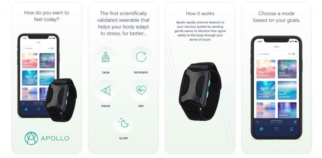 Apolloneuro app for HRV improvement