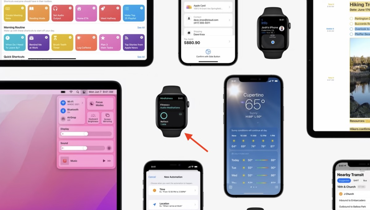 iOS 15 Apple Fitness+ and mindfulness app integration