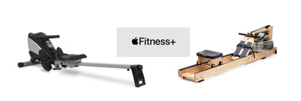rowing machines for Apple Fitness+