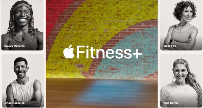 trainers featured in Apple Fitness+