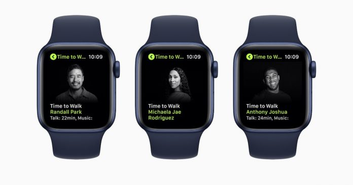 Apple Fitness+ Time to walk new episodes