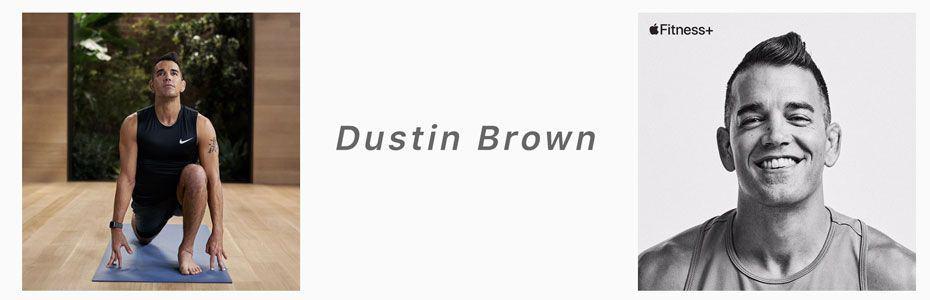 Dustin Brown apple fitness+ trainer