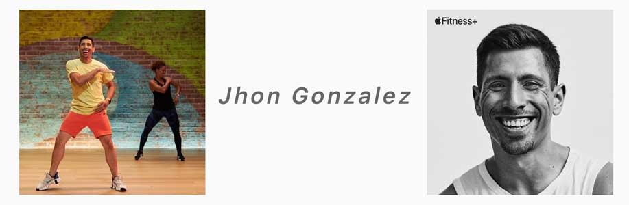 Jhon Gonzalez apple fitness+ trainer