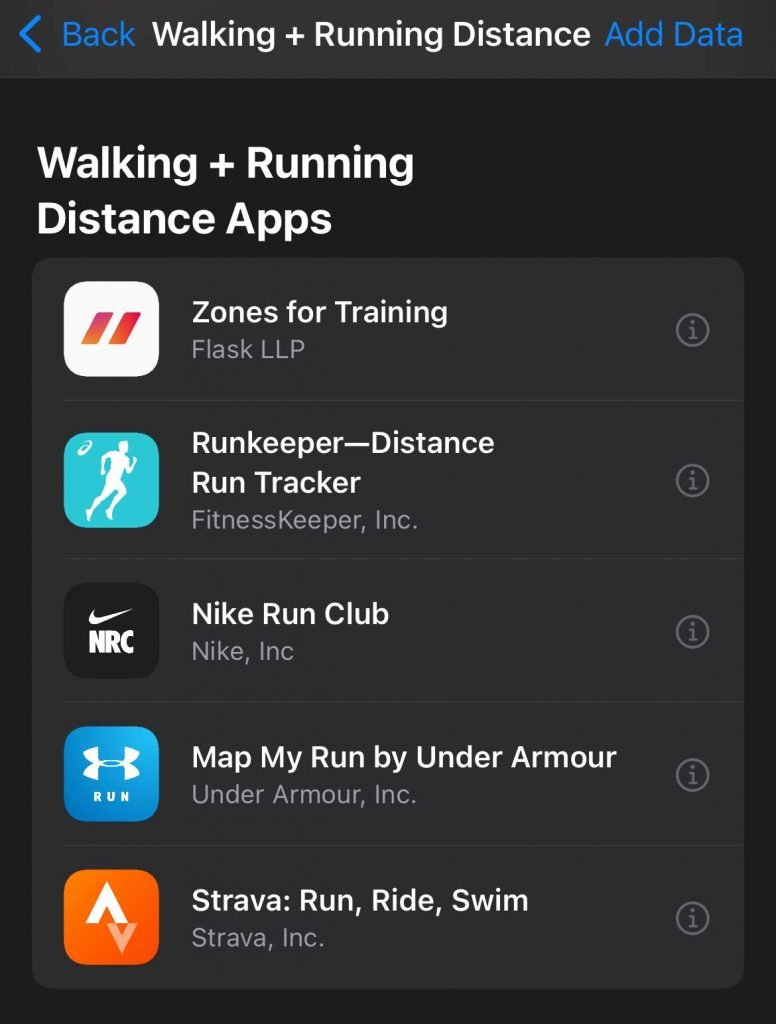 App recommendation for apps that integrate with Apple Health app on iPhone