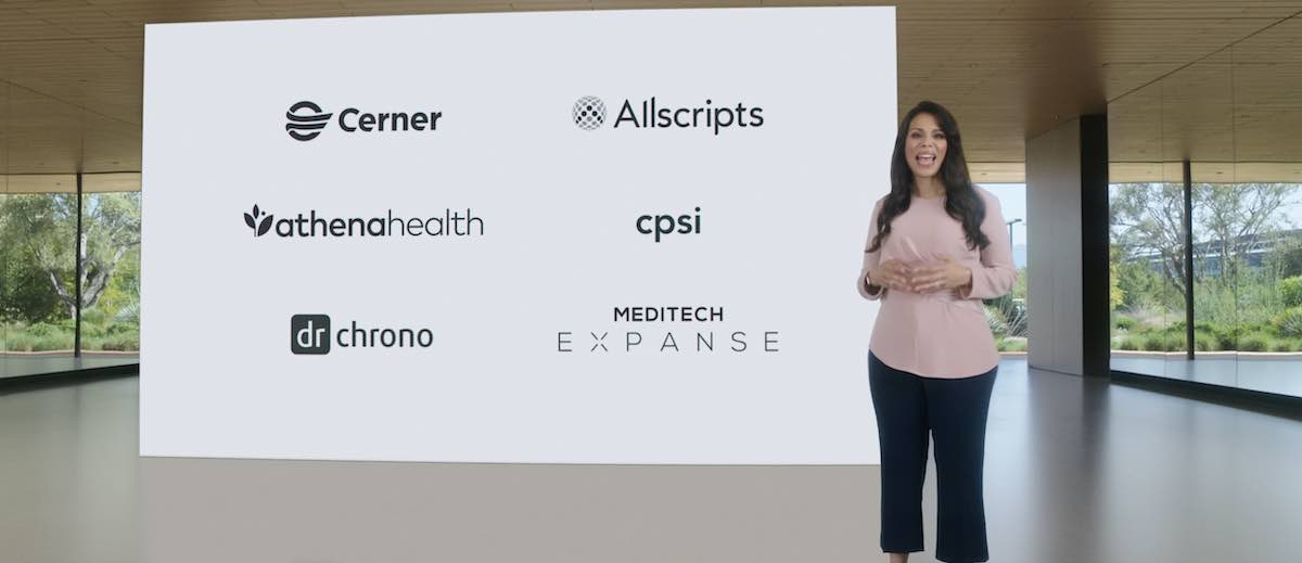 iOS 15 Apple health records and health providers