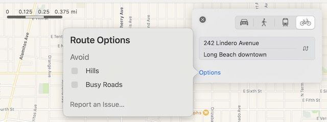 Apple Maps Cycling feature released