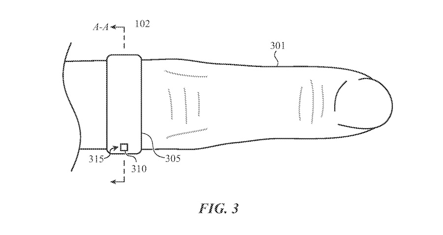 Apple ring for health monitoring