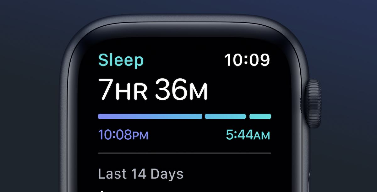 Apple Watch Sleep Monitoring