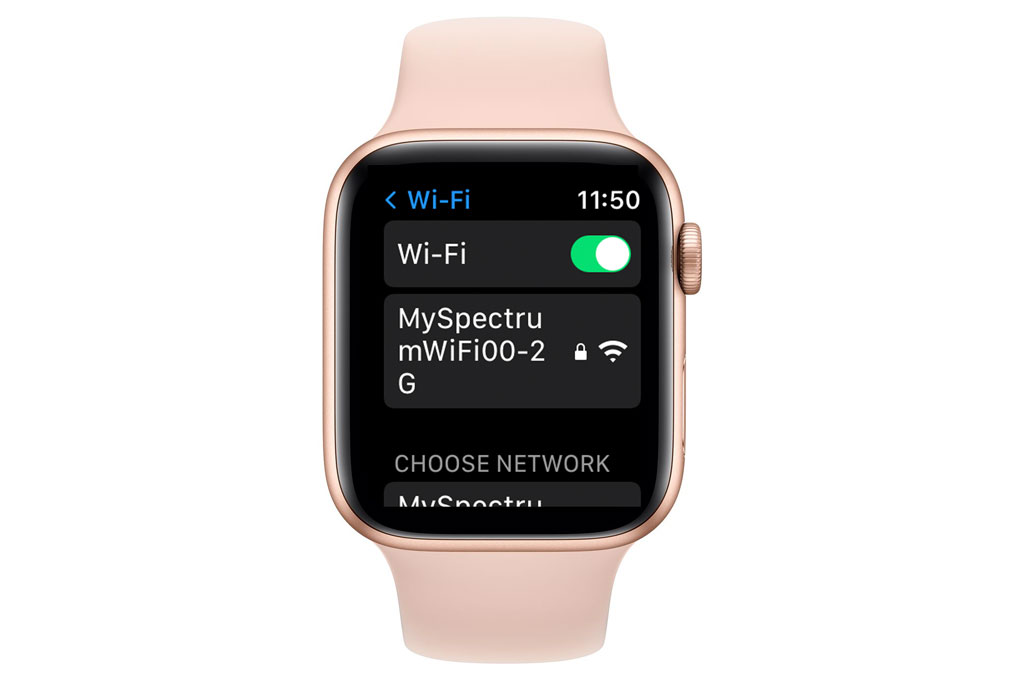 WiFi on Apple Watch