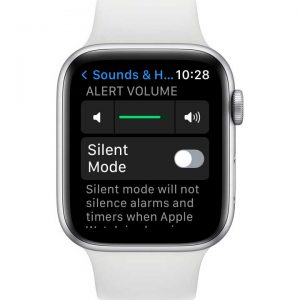 alert volume on apple watch