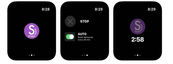 Apple Watch app for nausea and morning sickness