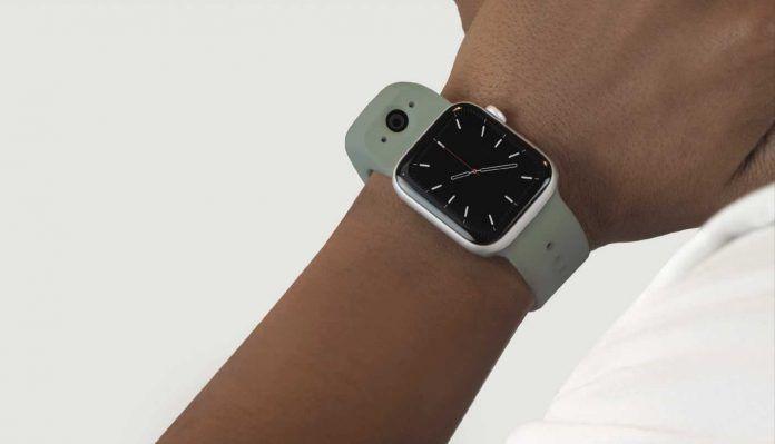 Apple watch band camera wristcam