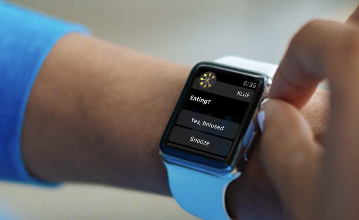 Apple Watch food intake monitoring