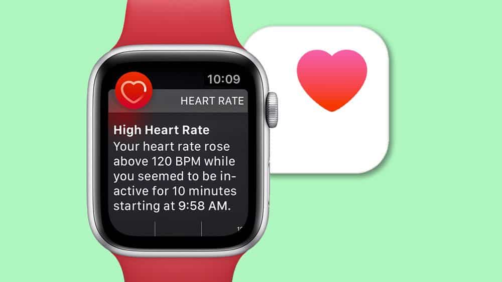 high heart rate on apple watch