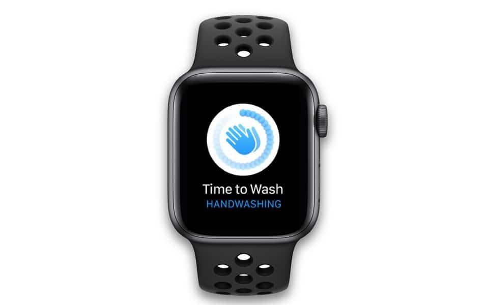 Apple Watch time to wash your hands hand washing reminder