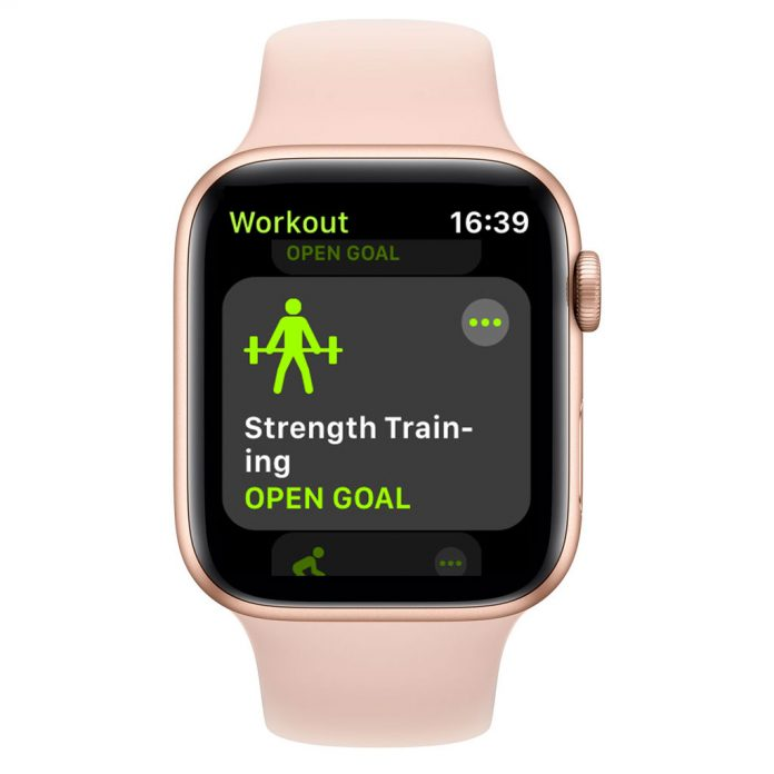 apple watch strength training using other workout