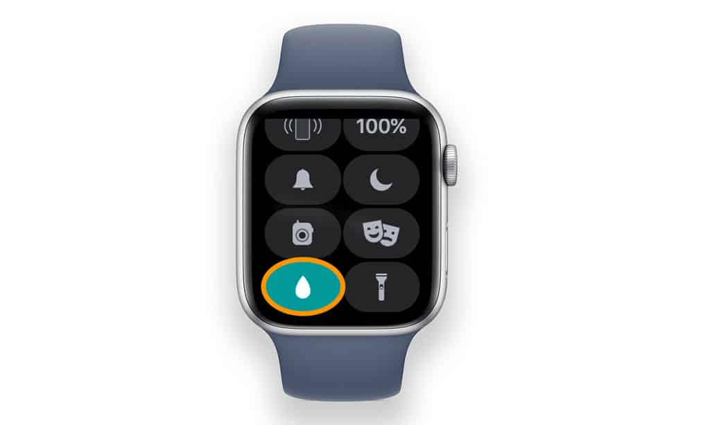 water lock feature on Apple Watch