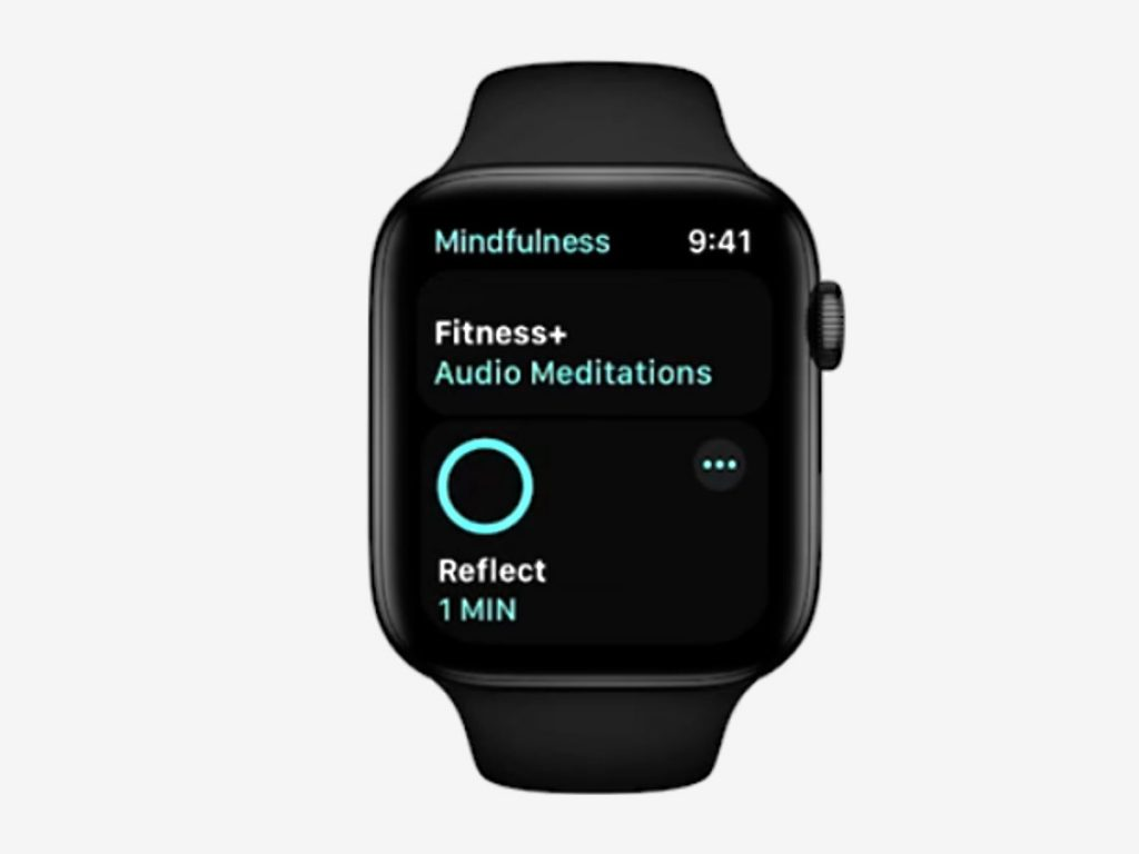 Mindfulness app for watchOS and Apple Fitness+ integration