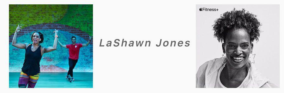 LaShawn Jones apple fitness+ trainer