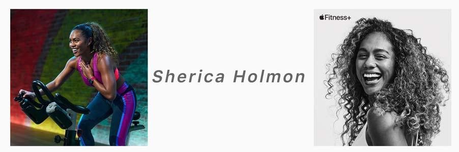 sherica holman apple fitness+ trainer