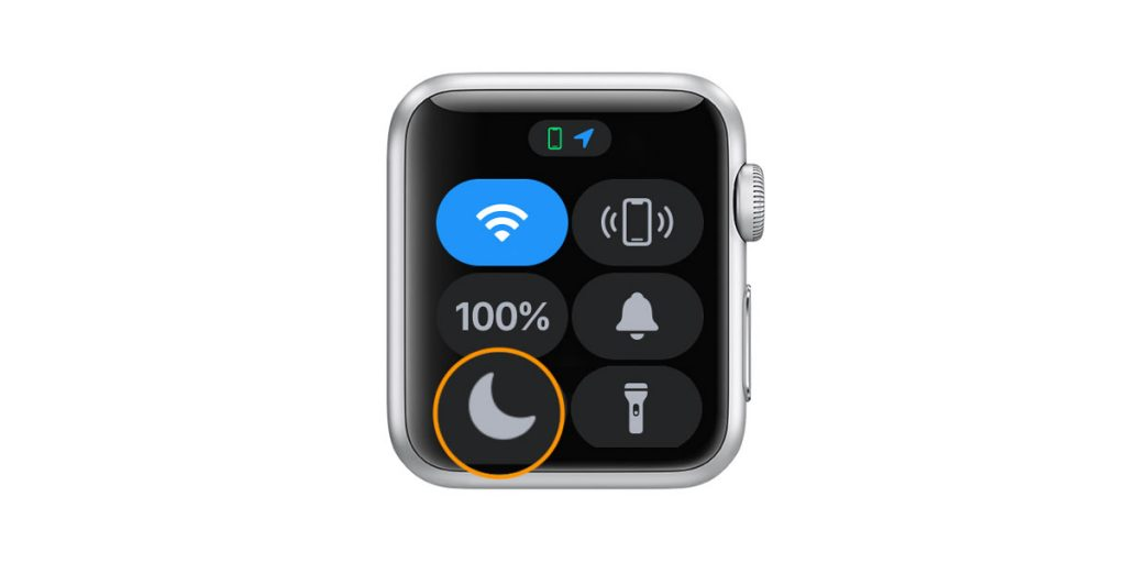 Select a Focus or Do Not Disturb mode on Apple Watch