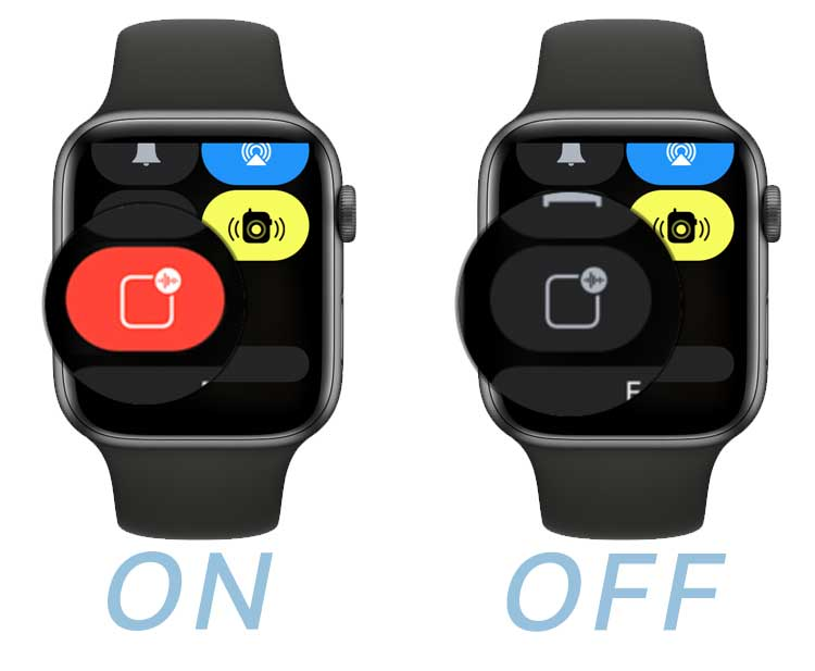 Announce messages with Siri in apple watch control center