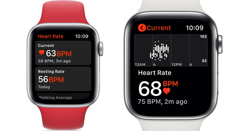 monitor heart rate with Apple Watch