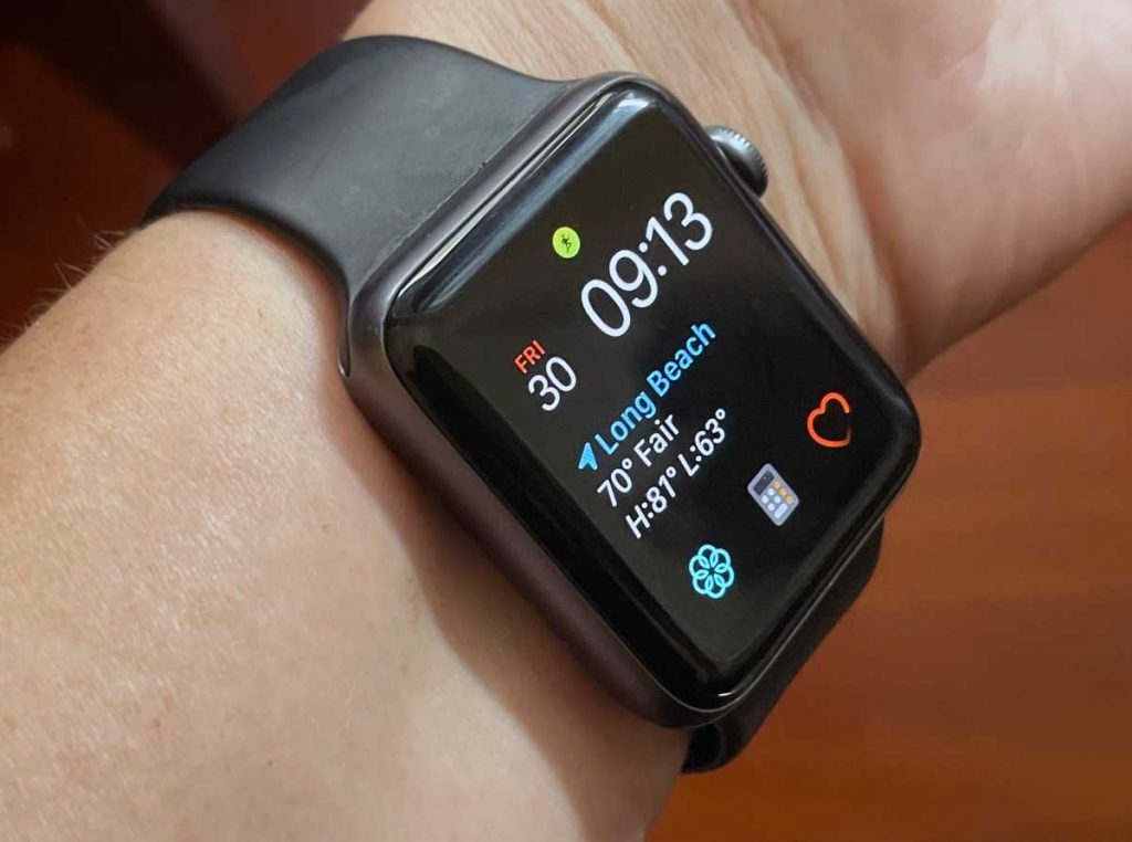 wear your Apple Watch on the inside of your wrist for more accurate heart rate monitoring