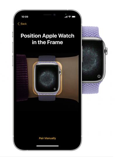 Pairing Apple Watch