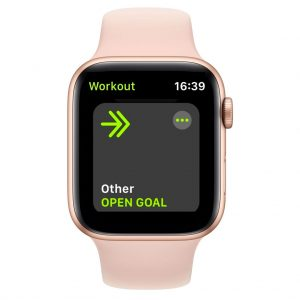 choose Other as your workout in the Apple Watch to make your own strength training program