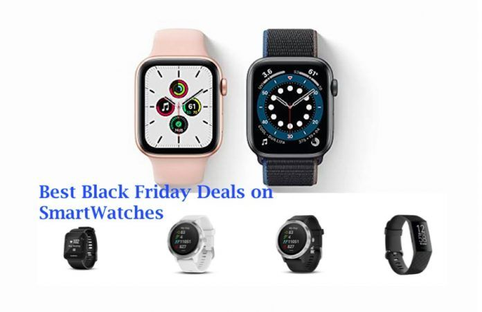 Best Black Friday Deals on Smartwatches and Apple Watch