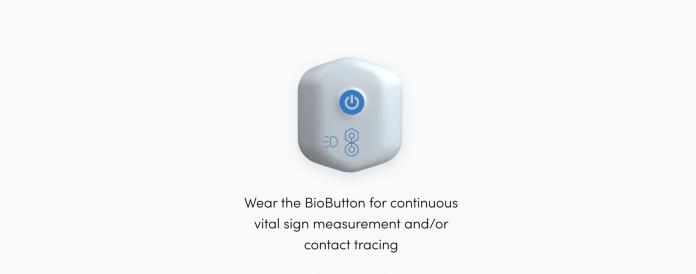 Biobutton wearable