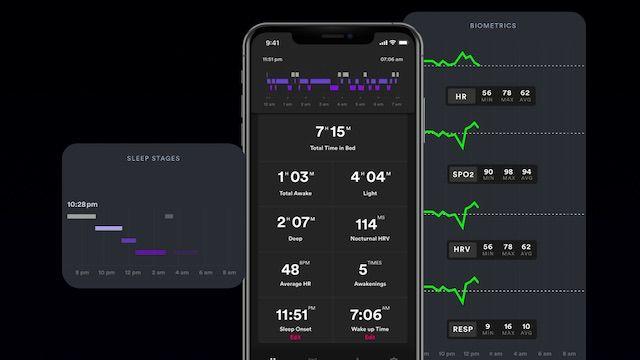 Biostrap Sleep monitoring