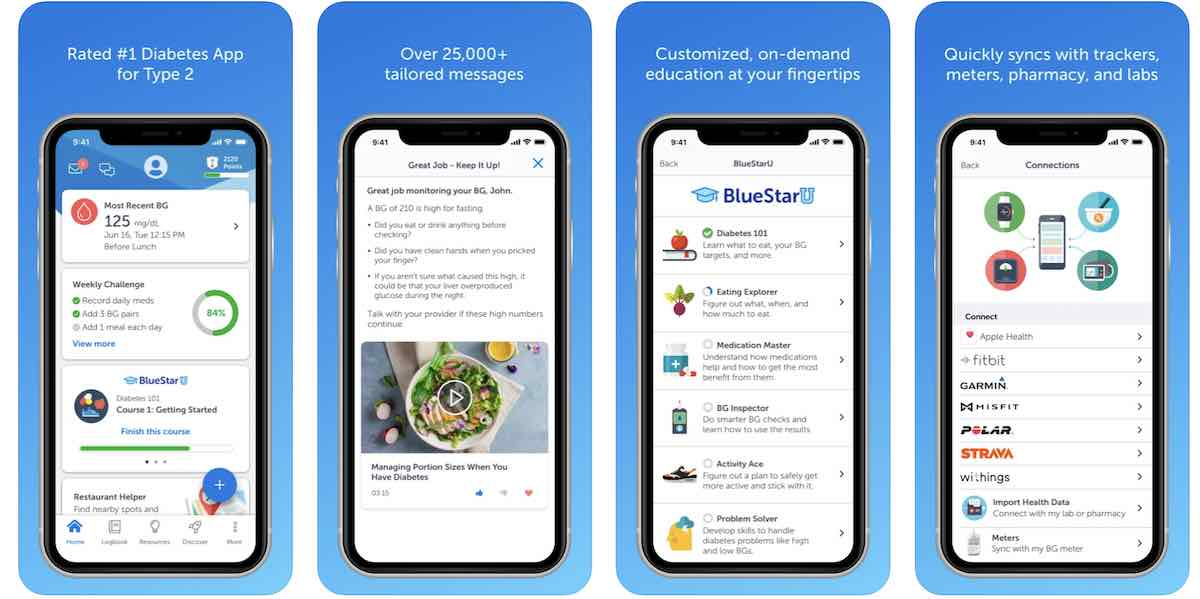 Blue Star diabetes management app for iPhone and Apple Watch
