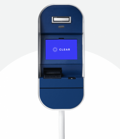 Airport security by CLEAR