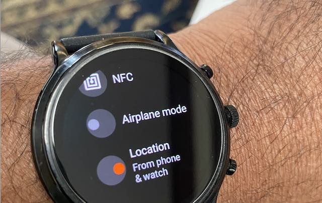 Fossil wear OS watch can't show weather fix