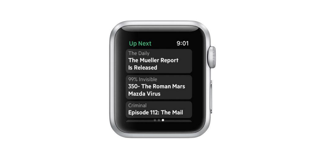 apple watch castro app